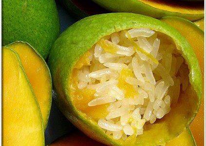 ข้าวเหนียวมะม่วง, มะม่วง, ข้าวเหนียวยัดมะม่วง, บักม่วง, mango