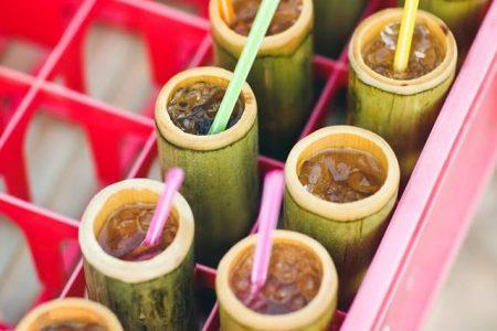 จอก, น้ำ, แก้ว, จอก, จอกไม้ไผ่, แก้วไม้ไผ่,