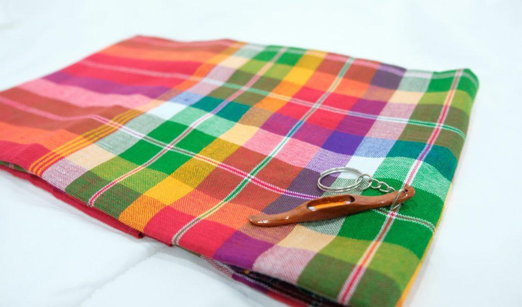กระสวยทอผ้า, กระสวย, ผ้าขาวม้า, ผ้าขาวม้าตราหมากลุก, ผ้าขาวม้าเขียวเหลืองแดง, ผ้าฆะม้า, ผ้าด้าม, ผ้า, ผ้าขาวม้าสวย ๆ,